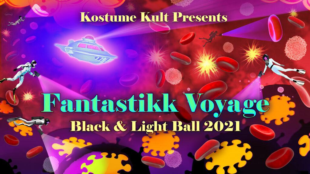 Kostume Kult's Black & Light Ball 2021